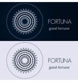 design templates in blue and grey colors vector image