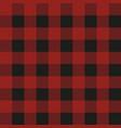 lumberjack plaid seamless pattern textile vector image