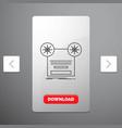 record recording retro tape music line icon in vector image
