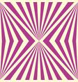 stylish seamless geometric pink striped pattern vector image