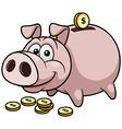 Pig bank vector image