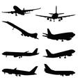 aircraft vector image vector image