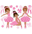 Ballerinas Set vector image vector image