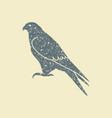 falcon icon - vector image