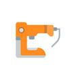 flat a stapler vector image vector image