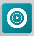 flat Time icon vector image vector image
