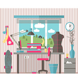 House female hobbies vector image vector image