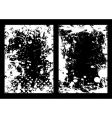 ink splat frame vector image