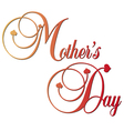 mothers day gradient decorative vector image