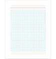 Retro Checkered Sheet vector image