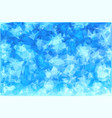 triangular winter blue ice frost background vector image