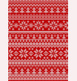 ugly sweater merry year knitted vector image vector image