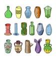 vase decorative ceramic pot design vector image