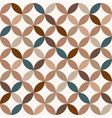 vintage seamless geometric patterns vector image