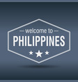 welcome to philippines vector image vector image