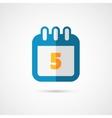 Calendar pictogram Icon vector image