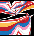 abstract unusual multicolored background vector image vector image