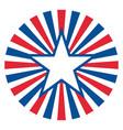 american star symbol sign logo icon vector image vector image