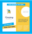 car garage company brochure template busienss vector image vector image