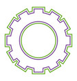 gear work cooperation business concept vector image vector image