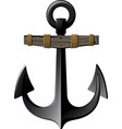 old anchor vector image