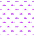 pink sport shoe pattern seamless vector image