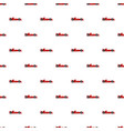 sport car side view pattern vector image vector image