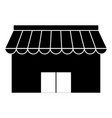 store building front icon vector image