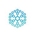 abstract circle connect logo image