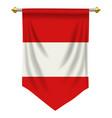 austria pennant vector image