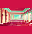 ballroom of royal palace hall vector image