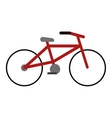 bicycle transport ecology urban icon vector image