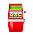 icon gamble machine vector image