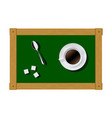 inspirations and ideas in the coffee break vector image