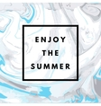 summer hipster marble background vector image vector image
