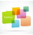 Color design vector image