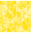 Abstract Yellow Triangle Geometrical Background vector image