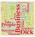 Can any Tom Dick and Harry Start A Home Business vector image vector image