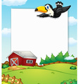 Countryside banner vector image vector image