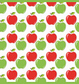 seamless backgroundtexture with red and green vector image vector image