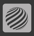 sphere icon vector image