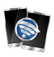 wifi for smartphones vector image