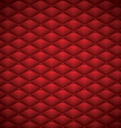 Button Red Leather abstract Luxury background vector image