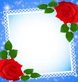 background festive frame vector image vector image