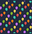 ballons seamless pattern vector image