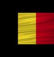 belgium flag belgium flag blowig in the wind eps vector image vector image