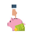 business and money vector image vector image