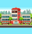 business offices building vector image vector image