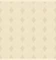 cable knit beige pattern vector image vector image