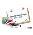 Education Drawing Board vector image vector image
